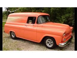 100 Panel Trucks 1958 Chevrolet Truck For Sale ClassicCarscom CC1198863