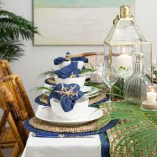 Check Out Our India Hicks Style Navy Table On Our Blog