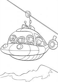 Little Einsteins Rocket Become A Cable Car In Einstein Colouring Page