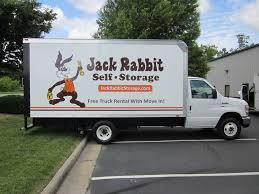 Jack Rabbit Self Storage Truck | The Graphics Shop