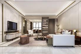 loft luxus wohnzimmer mit bücherregal in der nähe
