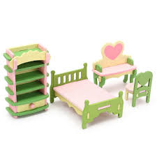 1 Pcs Mini Doll Rocking Chair Accessories For Doll House Room