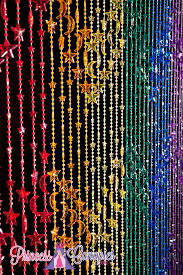 Doorway Beaded Curtains Wood by Rainbow Beaded Curtains Stars Beading Crafts Pinterest Bead
