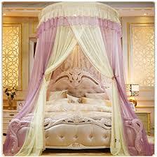 moskitonetz romantische prinzessin bett baldachin kuppel mücken netz runden betthimmel schlafzimmer dekoration für mädchen erwachsene höhe 2 7m