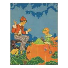Cheater Cheater Pumpkin Eater Nursery Rhyme by Retro Romance Posters U0026 Prints Zazzle Co Uk