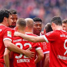 Champions League FC Bayern qualifiziert sich als erstes Team in Europa
