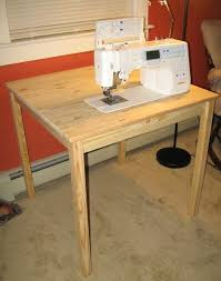 Sewing Cabinet Woodworking Plans by 52 Best Sewing Machine Tables Images On Pinterest Sewing Machine