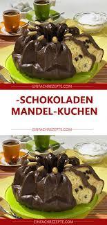 schokoladen mandel kuchen
