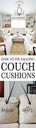 Replacement Sofa Pillow Inserts by Best 25 Couch Cushions Ideas On Pinterest Cushions For Couch