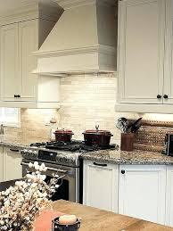 kitchen backsplash ideas dark cherry cabinets cream with white