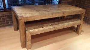 Country Kitchen Dining Room Table Rustic Custom