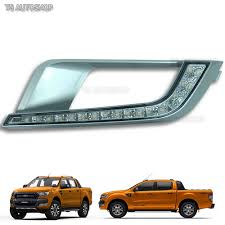 LED DRL Daytime Running Light Fog Lamp For Ford Ranger Px2 Mk2 ... Led Drl Daytime Running Light Fog Lamp Fits Ford Ranger T6 Px2 Mk2 Unique Bargains Truck Car White 6 Smd Driving 2009 2014 Board Lights F150ledscom Freeeasy Canyon Marker Mod Leds Chevy Colorado Gmc 7 Round 50w 30w H4 High Low Beam Led 10watt Xkglow 3 Mode Ultra Bright 14pcs Led Universal 2x45cm Auto Fxible Drl With Step Bar 1pcs Styling 12w Lights Dc 12v Archives Mr Kustom Accsories