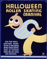 Halloween Roller Skating Carnival On The Mall Central Park Bring Your Skates