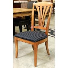 ethan allen dining room chairs ebay table round pads set for sale