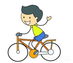 Riding Vector And Clip Bicycle Clipart Bike Ride Free Stock