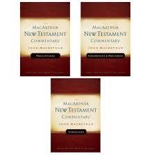 Pauline Epistles Ephesians Philippians Colossians Philemon MacArthur Commentary Set