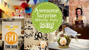 40th Birthday Decorations For Him by Surprise Birthday Party Decoration Ideas U2013 Decoration Image Idea