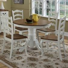 Elegant 5 Piece Dining Room Sets by White Kitchen Table And Chairs Visualizeus