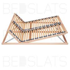 Solid Slats Inspiring Wooden Slat Frame Queen Full Wood ...
