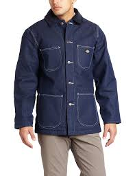 Amazon.com: Dickies Men's Denim Blanket Lined Chore Coat: Work ... Deadstock 1960s Prison Jail Chore Jacket Indigo Selvedge Dickies Mens Denim Zip Coat At Amazon Clothing Store Blanket Lined Big Tall Boot Barn Womens Wool Coats Parkas Outerwear Filson 60s Sears Work N Leisure Xl 12500 Woolrich Field With Removable Ling Excellent Vintage Lee 81 Lj Chore Jacket 44 R 30s 40s Barn Coat Best 25 Sherpa Denim Jacket Mens Ideas On Pinterest Levis Refashioned Detroit Co Wild Outdoor Apparel Vintage 1950s Iron Charlie C Wonder Water Resistant Quilted Printed Ling