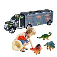 100 Toy Car Carrier Truck 2019 Dinosaur Dinosaurs Transport Rier With 6