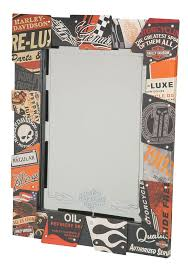 Harley DavidsonR Vintage Tin Sign Mirror HDL 15226