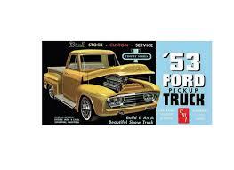 AMT 1:25 Ford Pickup Plastic Model Car Kit AMT882