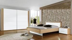 partnerring collection schlafzimmer lavin weiße macao eichefarbene oberflächen vierteilig liegefläche ca 180 x 200 cm