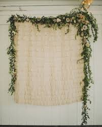 Beautiful Lace Backdrop Floral Greenery For Any Wedding Booth Nice Photo