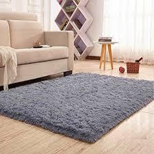 Noahas Super Soft 45cm Thick Modern Shag Area Rugs Fluffy Living Room Carpet Comfy Bedroom