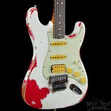 Fender 1960 Heavy Relic Stratocaster White Lightning Olympic