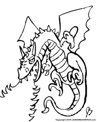Fire Coloring Pages Breathing Dragon Page For Adults
