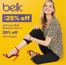 Belk Coupon Code: Up To 25% Off