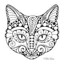 Cat Coloring Pages Images Of Photo Albums Book