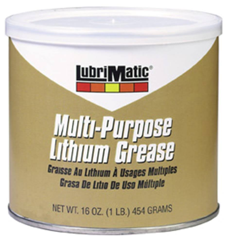 Lubrimatic 11316 Multi Service Grease - 1lb