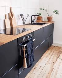 ikeaküche metod kungsbacka kitchen blackkitchen