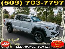 Pre-Owned 2018 Toyota Tacoma TRD SPORT 3.5L V6 4x4 Truck Double Cab ...