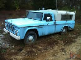 1964 Dodge Truck 3/4 Ton One Owner Sweptline Barn Find
