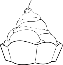 ALL Coloring Illustrations Page Ice Cream