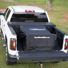100 Truck Bed Bag Tuff Black Waterproof Cargo Carrier 40 X 50