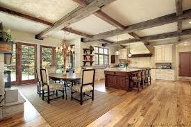 Modest Rustic Style Kitchen Designs Cool Gallery Ideas