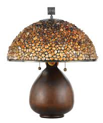 Quoizel Tiffany Lamp Shades by Quoizel Tffs6221 Fossil Stone 21 Inch High Table Lamp Capitol