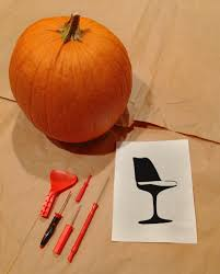 Preserve A Carved Pumpkin And Prevent Mold by Carving A Modern Pumpkin Design Necessities