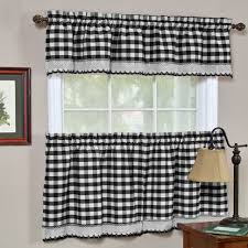 White Kitchen Curtains With Red Trim by Coffee Tables Sheer Curtain Panels Black And White Curtains