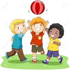 Kids Playing Outside Clipart 16