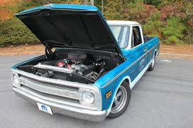 100 C10 Chevy Truck The With A Mopar Engine Under The Hood The Drive