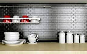 kitchen backsplash grey grout light gray subway tile grey