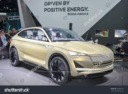 si e auto i size frankfurtseptember 20 skoda vision e concept stock photo 729806125