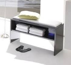 badezimmerbank weiß modern günstig badmöbel markenshop
