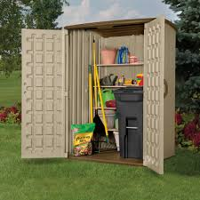 Rubbermaid Roughneck Medium Vertical Shed by Garden Sheds 4 X 5 Interior Design